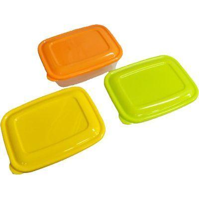 タケヤ化学工業 プラスチック 保存容器 カラフルライトパック 800ml 3個組【54個セット】 4904776107726【納期目安:1週間】