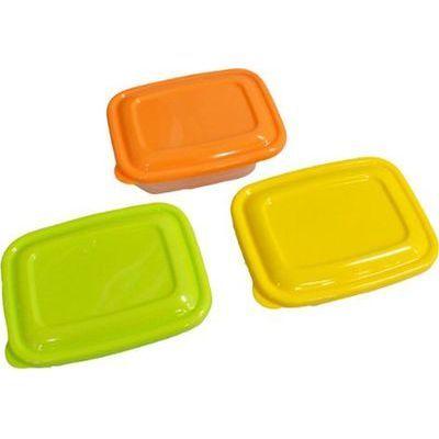 タケヤ化学工業 プラスチック 保存容器 カラフルライトパック 320ml 3個組【108個セット】 4904776107702【納期目安:1週間】