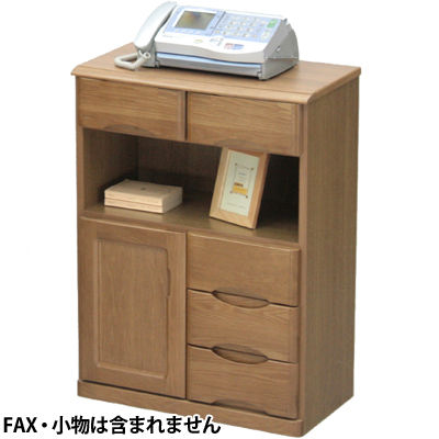ヤマソロ タモFAX台60幅 77-313