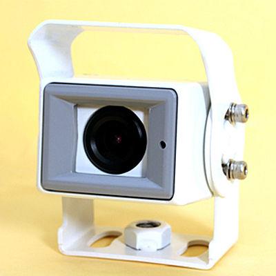 アイ・ティー・エス スピードプラス 1/3インチ 防水仕様52万画素超広角カメラ(ホワイト) SPC-130W