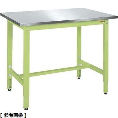 高い素材 TKK8-096HCSU4:激安!家電のタンタンショップ 軽量高さ調整作業台TKK8タイプ(ステンレスカブセ天板) サカエ-DIY・工具