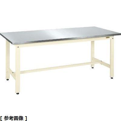 サカエ 軽量作業台KKタイプ・ステンレス天板仕様 KK-127SU3NI