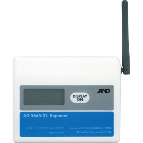 エー・アンド・デイ A&D ワイヤレス温湿度計(中継機) AD5665-02 AD566502