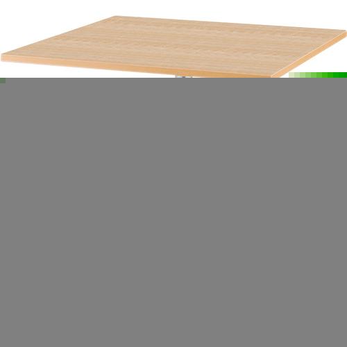 アイリスチトセ アイリスチトセ リフレッシュテーブル フーク 十字脚 750×750 ナチュラル CFKTT7575GNA
