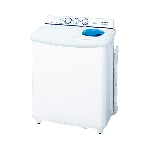日立 2槽式洗濯機 5.5kg PS-55AS2-W