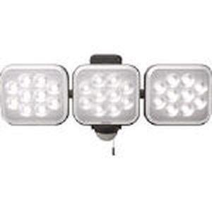 ムサシ ムサシ 12W×3灯 フリーアーム式LEDセンサーライト LEDAC3036