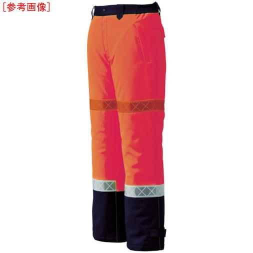 ジーベック ジーベック 800 高視認防水防寒パンツ L オレンジ 80082L