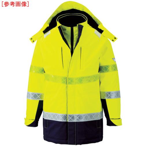 ジーベック ジーベック 801 高視認防水防寒コート L イエロー 80180L