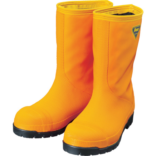 NR031 冷蔵庫用長靴-40℃ NR03124.0 シバタ工業 SHIBATA オレンジ 24.0