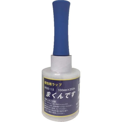 富士工業 【12個セット】FKK 細幅ストレッチ まくんです HR20 1.5インチ紙管 100mmX25 HR201.5100X250