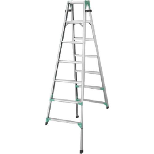 長谷川工業 ハセガワ 脚部伸縮式アルミはしご兼用脚立 RYZ型 7段 RYZ1.021