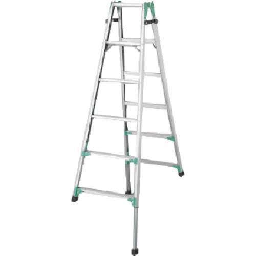 長谷川工業 ハセガワ 脚部伸縮式アルミはしご兼用脚立 RYZ型 6段 RYZ1.018