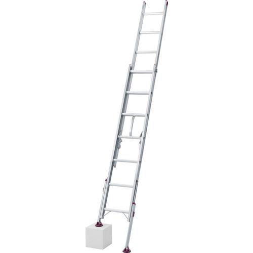 長谷川工業 ハセガワ 脚部伸縮式2連はしご ノビ型 LSK21.061
