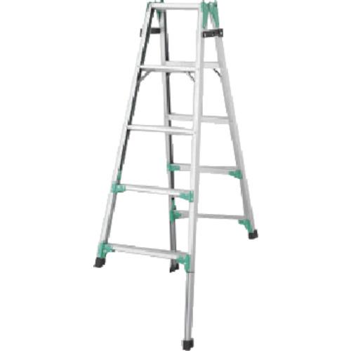 長谷川工業 ハセガワ 脚部伸縮式アルミはしご兼用脚立 RYZ型 5段 RYZ1.015