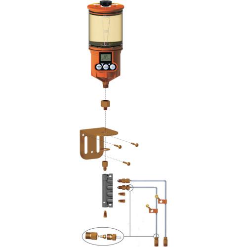 ザーレンコーポレーション パルサールブ OL500オイル用 遠隔設置キット(2箇所) 1250RO2