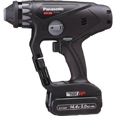 パナソニックエコソリューション Panasonic 充電マルチハンマードリル 14.4V 5.0Ah 黒 EZ78A1LJ2FB
