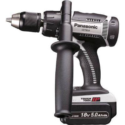 パナソニックエコソリューション Panasonic 充電振動ドリル&ドライバー 18V 5.0Ah EZ7950LJ2SH
