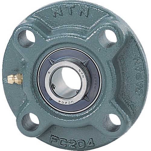 NTN NTN G ベアリングユニット(円筒穴形、止めねじ式)軸径65mm全長194mm全高194mm UCFCX13D1