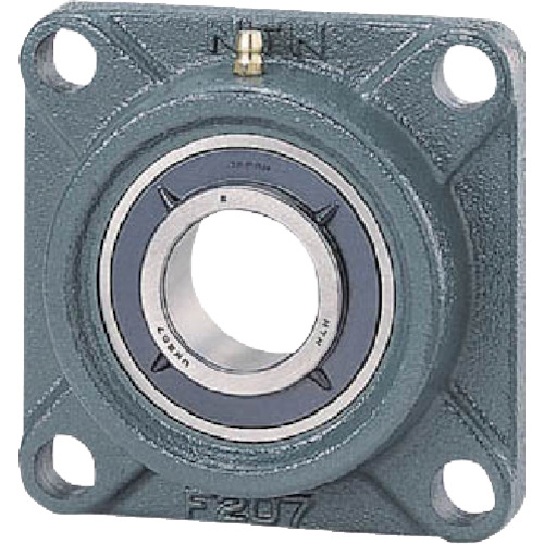 NTN NTN G ベアリングユニット(テーパ穴形アダプタ式)軸径80mm内輪径90mm全長235mm UKF218D1