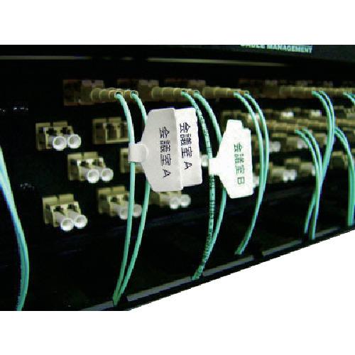 パンドウイットコーポレーション パンドウイット レーザープリンタ用 光ファイバー用旗型ラベル F102X220FJJ