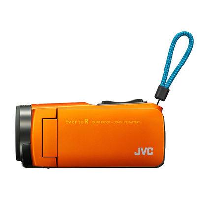 ビクター ハイビジョンメモリームービー(5m防水・防塵・耐衝撃・耐低温) (サンライズオレンジ) (GZRX670D) GZ-RX670-D