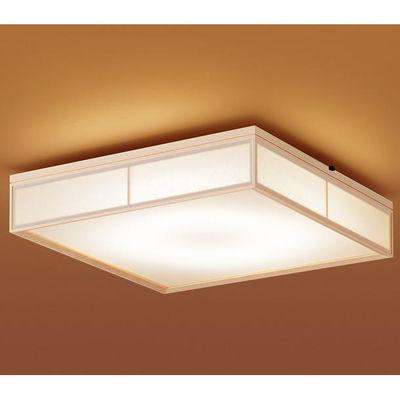 パナソニック 天井直付型 LED(昼光色~電球色) シーリングライト リモコン調光・リモコン調色・カチットF パネル付型 ~10畳 LGBZ2806K