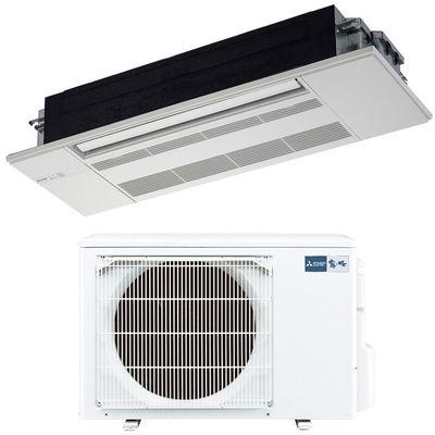 三菱電機 シングルエアコン1方向天井カセット形 RXシリーズ(ホワイトパネル付) MLZ-RX4017AS-W