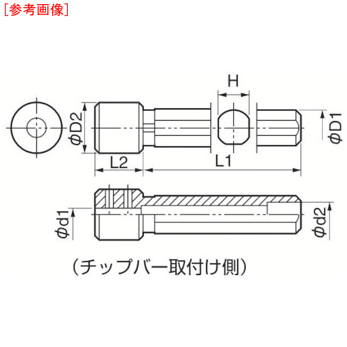 京セラ 京セラ 内径加工用ホルダ  PH0416-80 PH0416-80