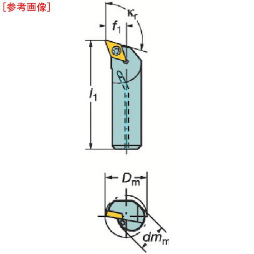 サンドビック サンドビック コロターン107 ポジチップ用ボーリングバイト A10KSDQCR07