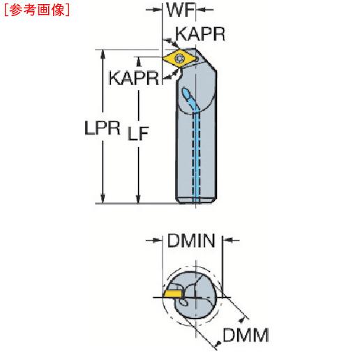 サンドビック サンドビック コロターン111 ポジチップ用ボーリングバイト A16RSDXPR07ER