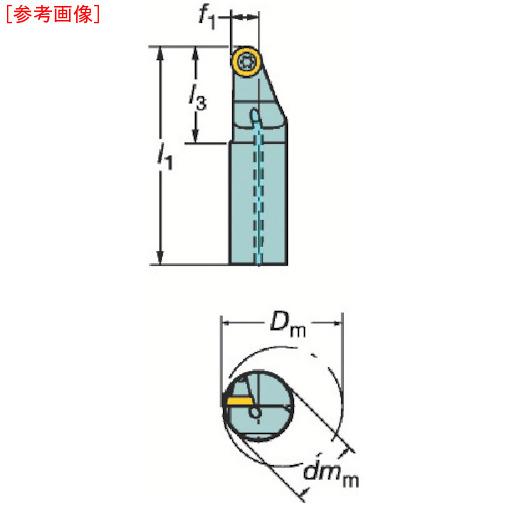 サンドビック サンドビック コロターン107 ポジチップ用ボーリングバイト A20MSRXDR08R