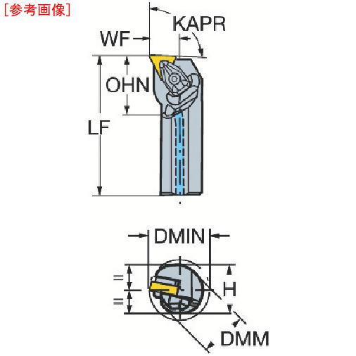 サンドビック サンドビック コロターンRC ネガチップ用ボーリングバイト A40TDTFNR16