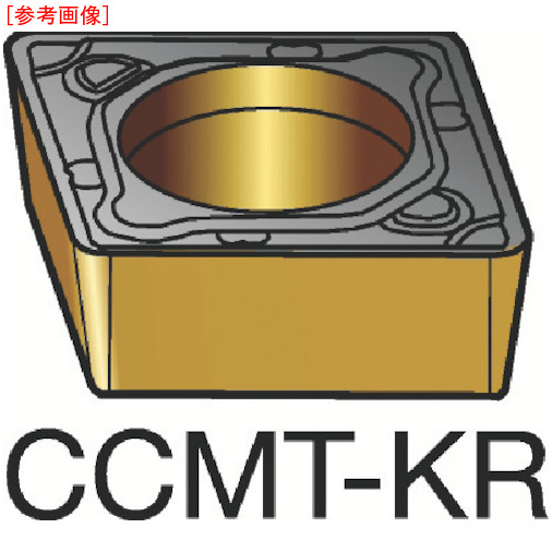 サンドビック 【10個セット】サンドビック コロターン107 旋削用ポジ・チップ 3205 CCMT120408KR-1
