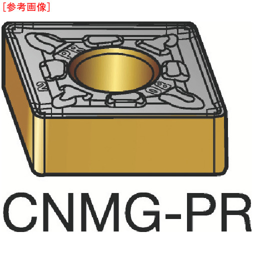 サンドビック 【10個セット】サンドビック T-Max P 旋削用ネガ・チップ 4235 CNMG160608PR-2