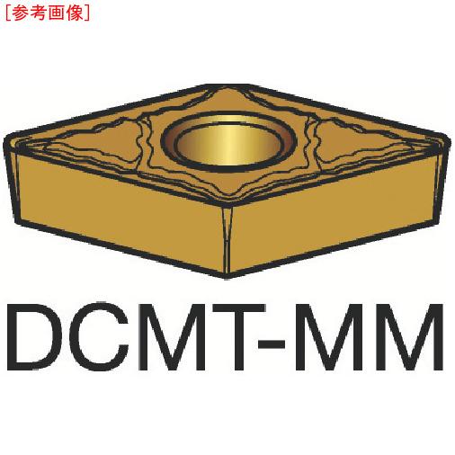 サンドビック 【10個セット】サンドビック コロターン107 旋削用ポジ・チップ 1125 DCMT070208MM-3