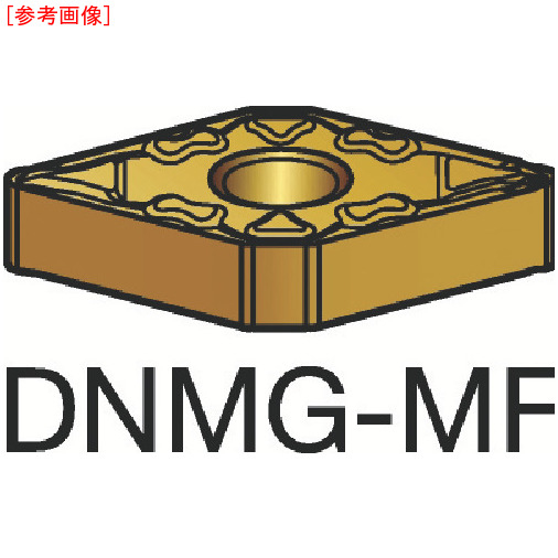 サンドビック 【10個セット】サンドビック T-Max P 旋削用ネガ・チップ S05F DNMG150408MF-9