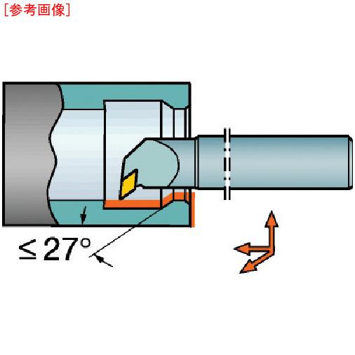 サンドビック サンドビック コロターン107 ポジチップ用超硬ボーリングバイト E20SSDUCR11R