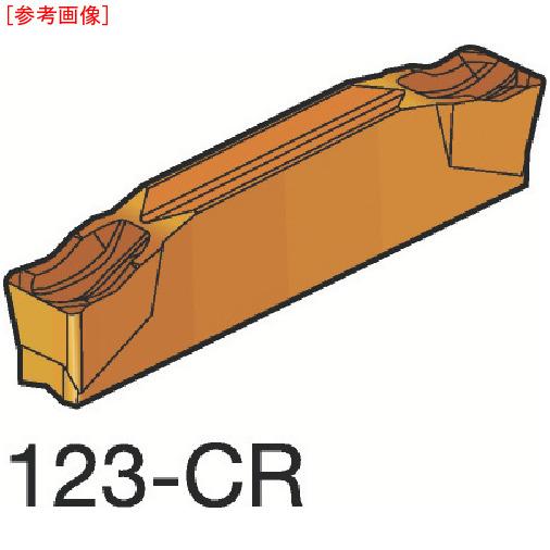 サンドビック 【10個セット】サンドビック コロカット2 突切り・溝入れチップ 1145 N123G2030000-12