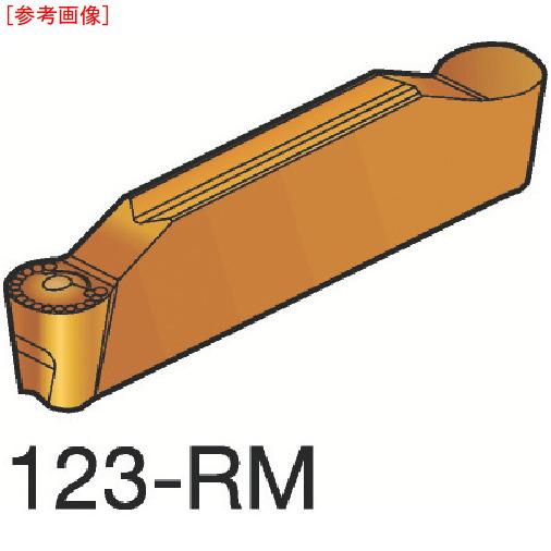 サンドビック 【10個セット】サンドビック コロカット1 突切り・溝入れチップ H13A N123J10600RM-2