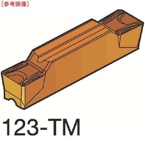 サンドビック 【10個セット】サンドビック コロカット2 突切り・溝入れチップ H13A N123J2050000-17