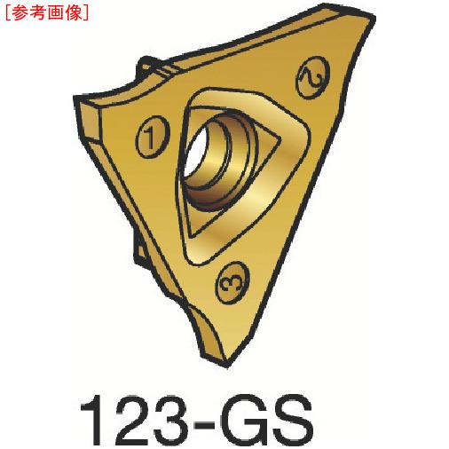 サンドビック 【10個セット】サンドビック コロカット3 突切り・溝入れチップ 1125 N123T302000000G