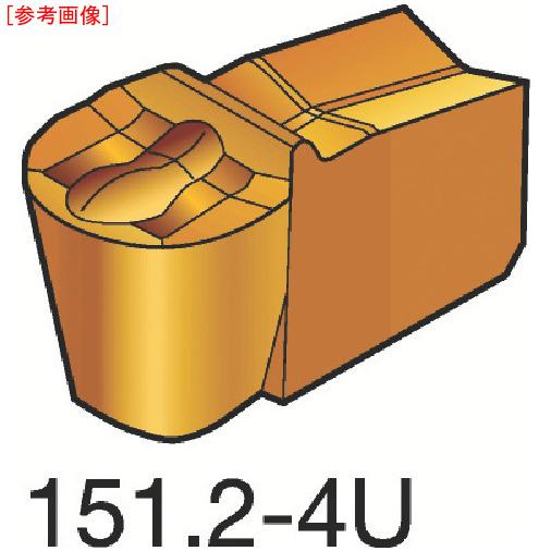 サンドビック 【10個セット】サンドビック T-Max Q-カット 突切り・溝入れチップ H13A N151.2200204-4