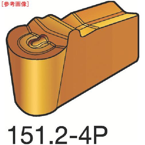 サンドビック 【10個セット】サンドビック T-Max Q-カット 突切り・溝入れチップ H13A N151.2600504-2