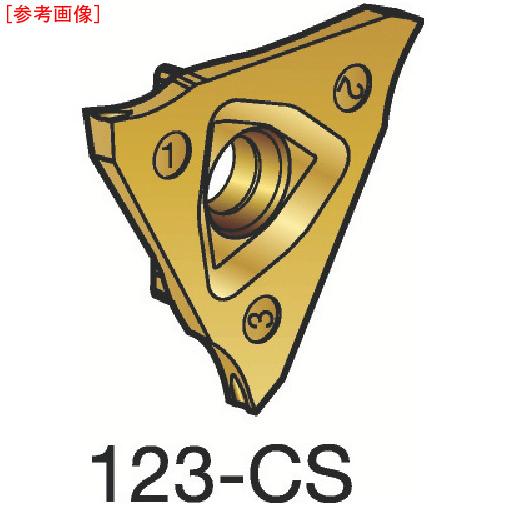 サンドビック 【10個セット】サンドビック コロカット3 突切り・溝入れチップ 1125 R123T302000500C