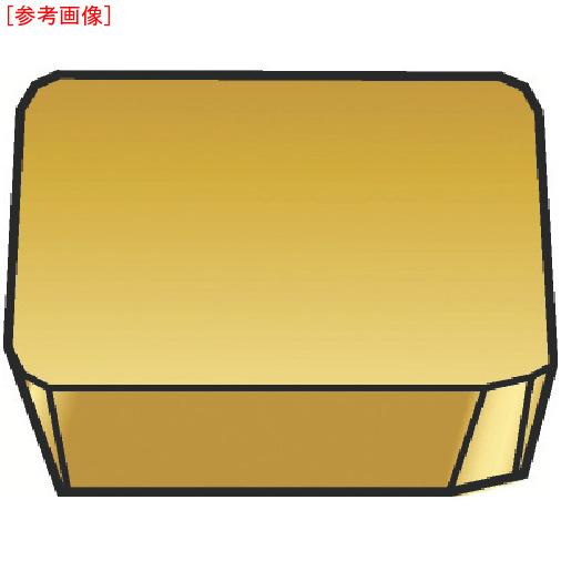 サンドビック 【10個セット】サンドビック フライスカッター用チップ 3020 SPKN1204EDR