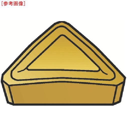 サンドビック 【10個セット】サンドビック フライスカッター用チップ 3040 TPKR2204PDRW-2