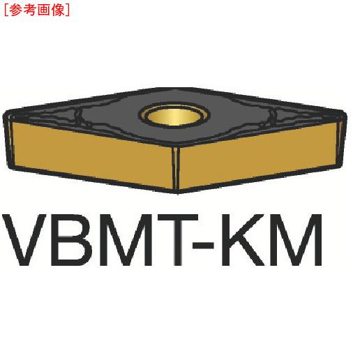 サンドビック 【10個セット】サンドビック コロターン107 旋削用ポジ・チップ H13A VBMT160408KM-3