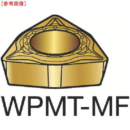 サンドビック 【10個セット】サンドビック コロターン111 旋削用ポジ・チップ 1125 WPMT040204MF-2