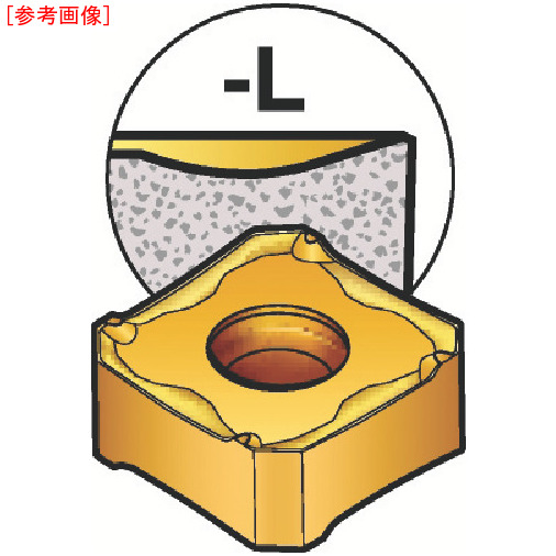サンドビック 【10個セット】サンドビック コロミル345用チップ 530 345R1305EPL-7