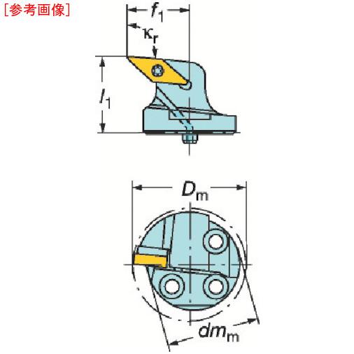 サンドビック サンドビック コロターンSL コロターン107用カッティングヘッド 570SVLBR4016